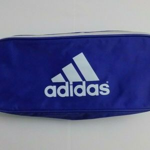 Vtg Adidas Shoe Bag Blue